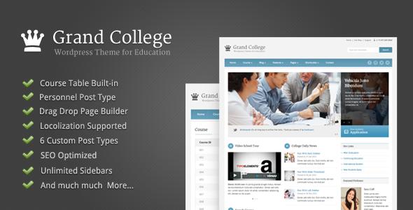 Theme giáo dục cho wordpress thumbnail
